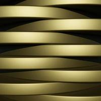 lyxig guldbakgrund med metallstruktur i abstrakt stil 3d foto