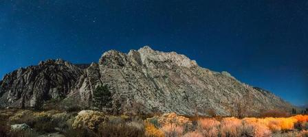 Sierra och Inyo National Forest i Kalifornien foto