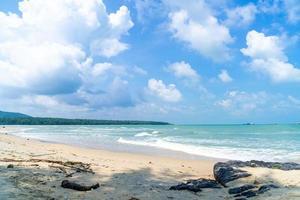 Samila Beach. landmärke för Songkla, Thailand. foto