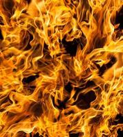 eld lågor på svart foto