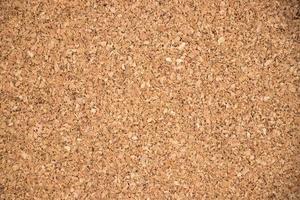 stängd av brun korkbräde textur bakgrund foto