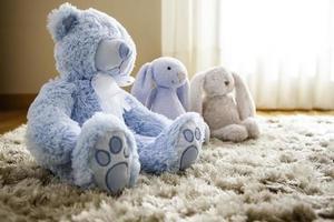 nallebjörnar leksak foto