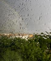 regnar på Madrid, Spanien foto