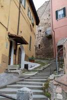 byggnader i cesi, i Terni-provinsen, Italien, 2020 foto