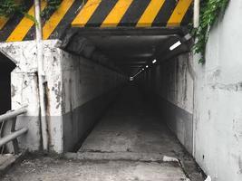 den långa tunneln i Busan City, Sydkorea foto