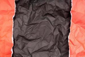 textur eller bakgrund av detaljerat skrynkligt papper foto