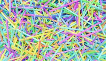 bakgrund av mångfärgade pennor foto