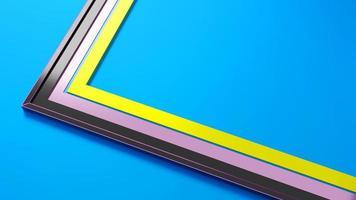 3D-tolkning för geometribakgrund triangel mönster grunge vanlig babstrakt foto