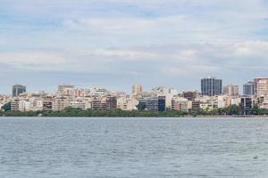 Rodrigo de Freitas lagun i Rio de Janeiro. foto