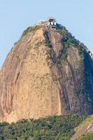 sockerbröd berg i Rio de Janeiro. foto