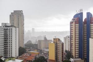byggnader i mitten av Sao Paulo, Brasilien foto