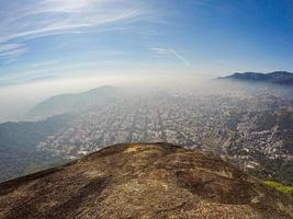 vy från den förlorade toppen i Rio de Janeiro, Brasilien foto
