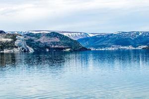 den östra armen från Bonne Bay. Gros Morne National Park, Newfoundland, Kanada foto