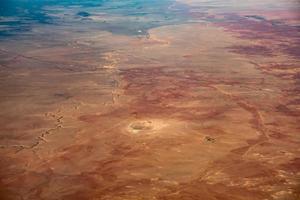 antenn över Grand Canyon Arizona foto