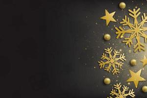 elegant god jul och bakgrund för gott nytt år foto