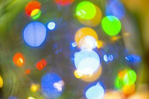 bild ledd ljus bokeh för suddig abstrakt bakgrund foto