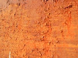 rost bestående av ytbrun, naturlig provfraktur foto