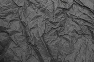 närbild skrynkligt skrynkligt papper gammal texturbakgrund foto