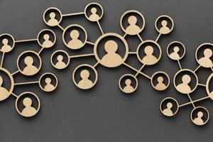 abstrakt nätverk koncept stilleben komposition foto