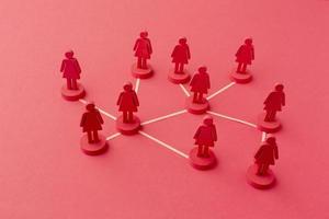 nätverk koncept stilleben sammansättning foto