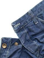 textil mode design jean byxa makro bakgrund foto