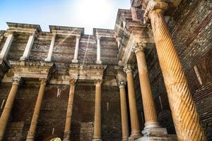 forntida historisk turism placera sardes foto