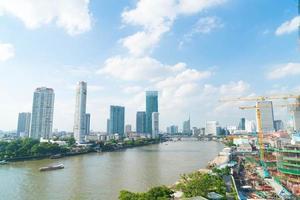 bangkok stad i Thailand foto