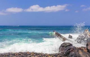 Atlanten vid Teneriffa, på Kanarieöarna foto