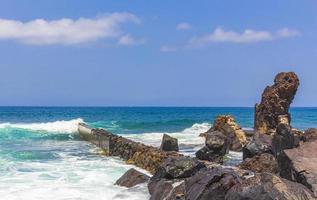 Atlanten vid Teneriffa, på Kanarieöarna, 2014 foto