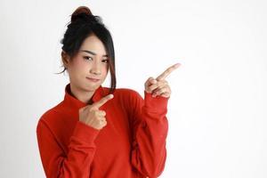 östasiatisk kvinna foto