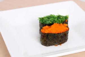 utsökt japansk mat foto