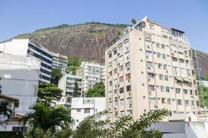 Rodrigo de Freitas lagun grannskap i Rio de Janeiro Brasilien. foto