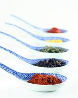 kök kryddor för mat foto