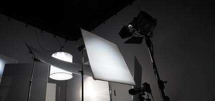 studioljusutrustning för foto- eller filmfilm foto