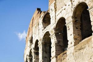 detalj av colosseum i Rom foto