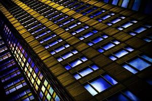 enorma affärstorn byggnad foto