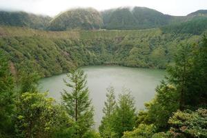 landskap på Azorerna öar, Portugal foto