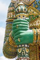 hand av jätte statyer av Thailand, allmän plats foto