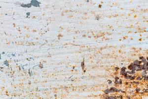 gammal rostig metallgrunge textur närbild, bakgrund foto