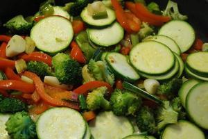 grönsaker färska och friska foto