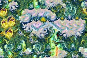 abstrakt färgrik färg surrealistisk samless och kaklig bakgrund foto