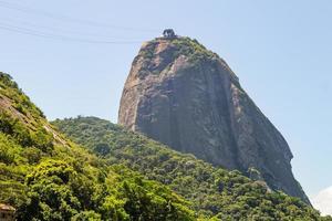 sockerbrödberget i Rio de Janeiro, Brasilien foto