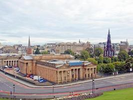 utsikt över Edinburgh foto