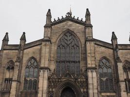 katedralen st giles i edinburgh foto