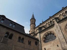 bonner muenster bonn minster basilika kyrka i bonn foto