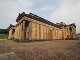 skotska nationella galleriet i edinburgh foto