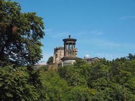 calton hill i edinburgh foto