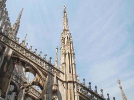 duomo di milano milankatedralen foto