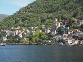 utsikt över Comosjön foto