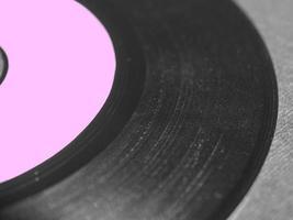 singelplatta i vinyl foto